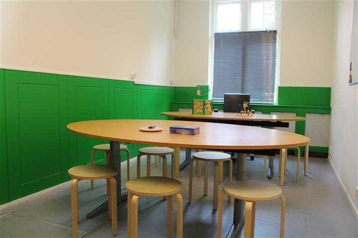 Groene kinderruimte